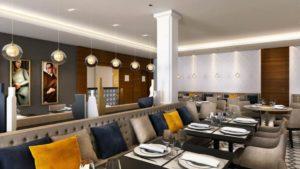 Résidence services seniors Aquila à Saint-Quentin plan appartement restaurant