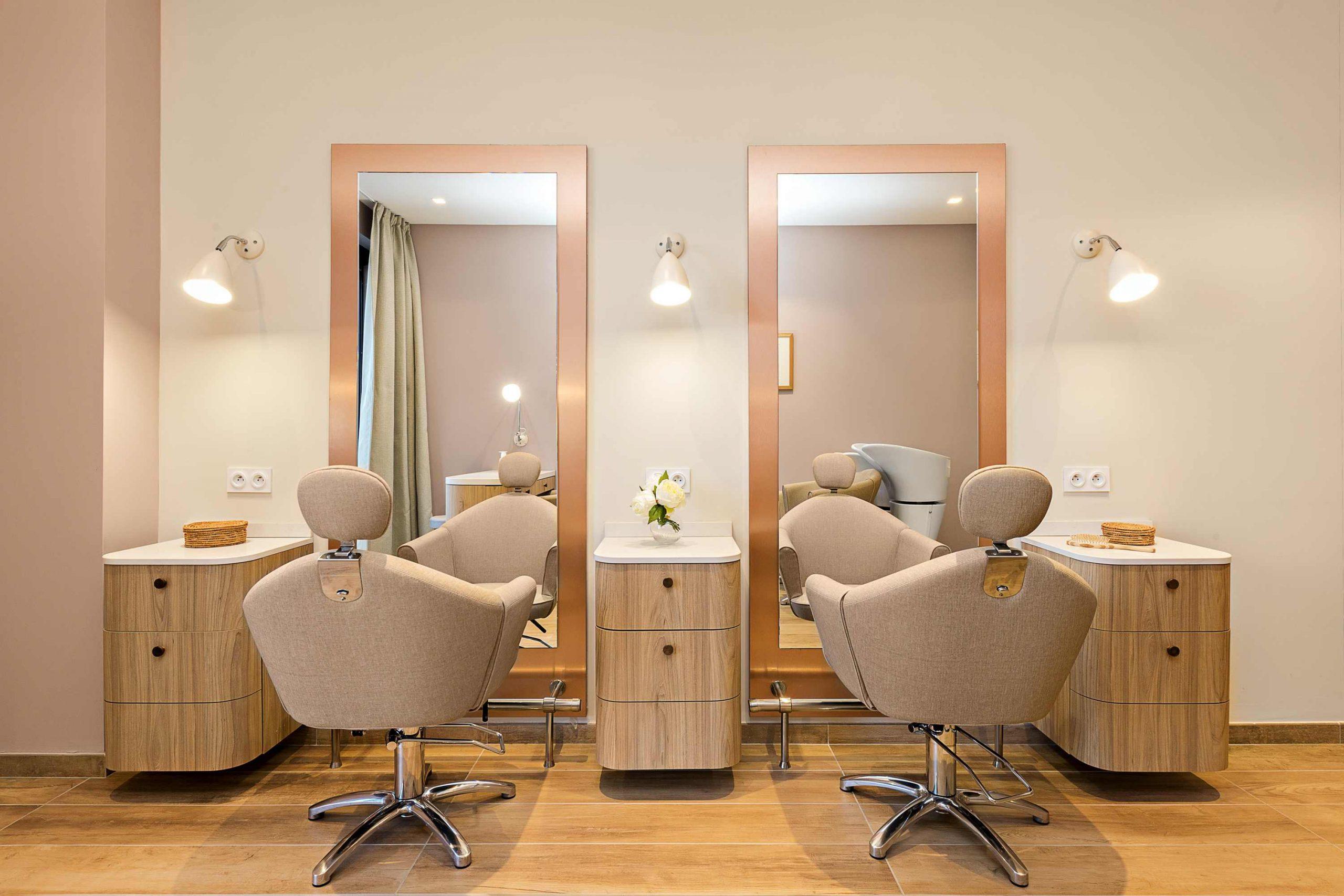 Résidence services seniors Nahoma La Calende Rouen salon de coiffure