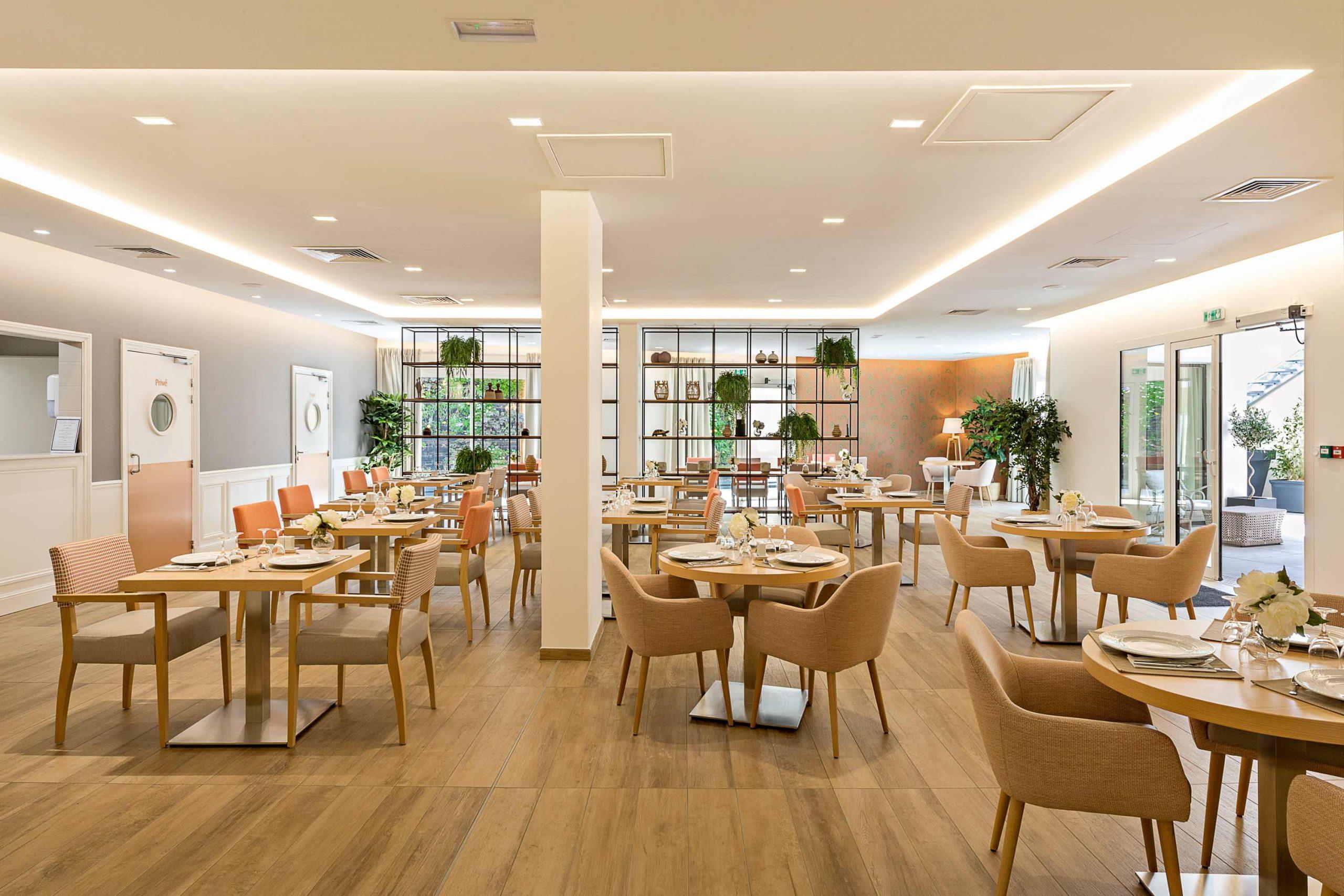 Résidence services seniors Nahoma La Calende Rouen restaurant
