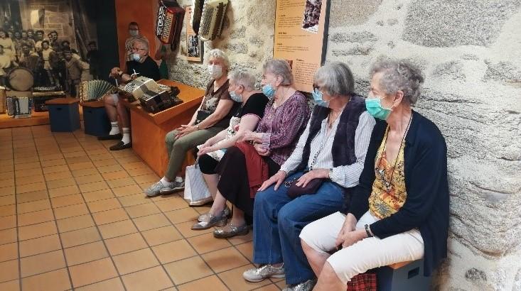 Visite au musée de l'accordéon à Siran